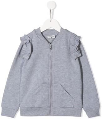MonnaLisa Jerry print zip-up sweatshirt