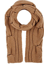Barneys New York MEN'S LEATHER-TRIMMED CASHMERE SCARF