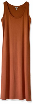 Daily Ritual Pima Cotton and Modal Interlock Tank Dress