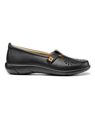 Hotter Nirvana Wide Fit T-Bar Shoe