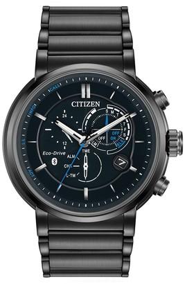 Citizen Men's Proximity Perpetual Calendar Chronograph Smartwatch, 46mm