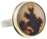 Jamie Joseph Round Dendritic Opal Ring