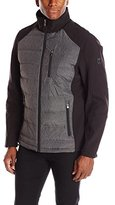 Calvin Klein Men's Mixed Media Jacket