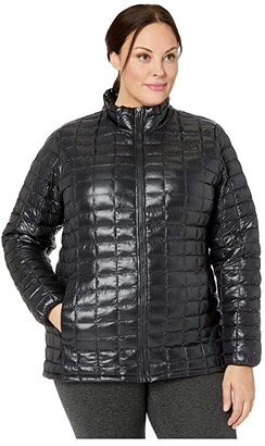 The North Face Plus Size Thermoball Eco Jacket (TNF Black) Women's Clothing