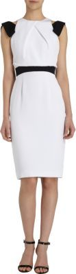 Prabal Gurung Bow Shoulder Dress