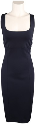 Ralph Lauren Navy Wool Dresses
