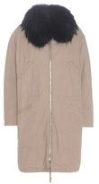 Army By Yves Salomon Fur-trimmed parka coat