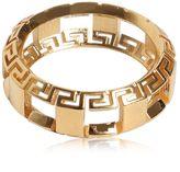 Versace Greek Motif Cutout Ring