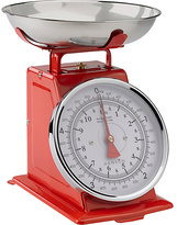 Hanson Traditional Mechanical Kitchen Scale - Red