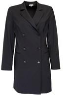 Dressarte Paris Double Breasted Black Blazer Dress