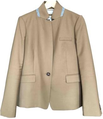 Hobbs Camel Wool Jacket for Women