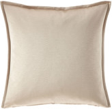 Fino Lino Linen & Lace Nacre Throw Pillow