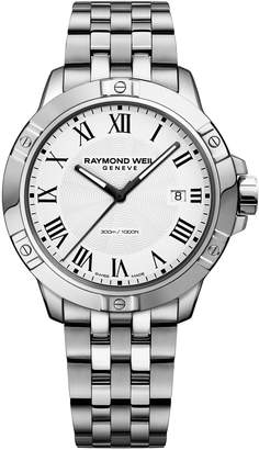 Raymond Weil 41mm Tango Stainless Steel Bracelet Watch