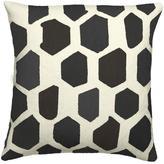 Judy Ross Textiles Quartz Cream/Black Pillow