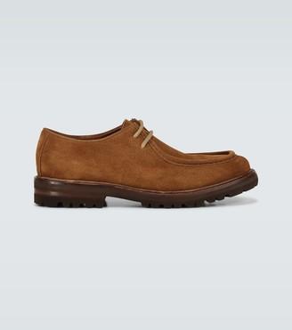 Brunello Cucinelli Norwegian suede derby shoes