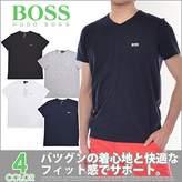 HUGO BOSS Men's Short Sleeve T-shirt 'Teevn' with V-neck - (S)
