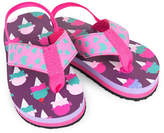 Hatley Ice Cream Printed Flip Flops