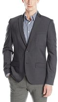 Kenneth Cole New York Kenneth Cole Men's 2 Button Pinstripe
