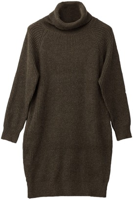 Goodnight Macaroon 'Tiffany' Turtleneck Long Sweater Dress with Pockets (3 Colors)