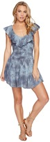 Blue Life Luna Ruffle Smock Romper Women's Jumpsuit & Rompers One Piece