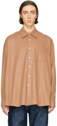 Our Legacy Brown Borrowed Shirt