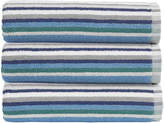 Christy Henley Stripe Towel - Blue - Bath Towel