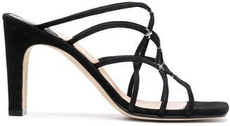 Sergio Rossi Crossover Strap Sandals