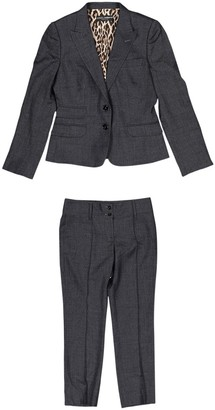 Dolce & Gabbana Blue / Grey Wool Jackets