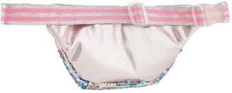 Accessorize Girls Glitter Sequin Belt Bag - Multi