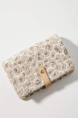 Anthropologie Carlin Leopard Crossbody Bag
