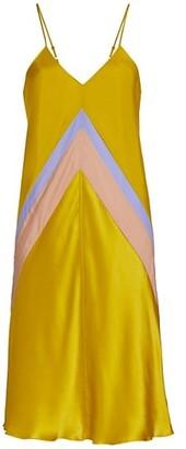 ATM Anthony Thomas Melillo Bias-Cut Silk Slip Dress