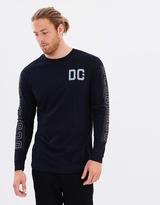 DC Mens Camment Long Sleeve T Shirt