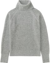 Uniqlo Women Cashmere Blend Turtleneck Sweater
