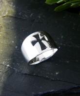 Silver Cross Vera & Co. Women's Rings - Sterling Cutout Ring