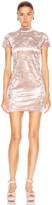 Sandy Liang Koro Dress in Dusty Pink   FWRD