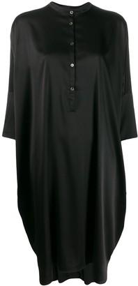 6397 Button Down Shift Dress