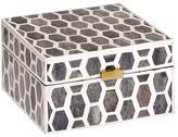 Mela Artisans Gramercy in Ivory/Grey Box 6x6