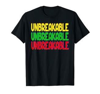 Sass Classy Southern Motivational Courageous Unbreakable T-Shirt
