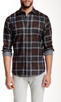 James Tattersall Exploded Plaid Long Sleeve Regular Fit Shirt