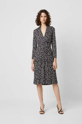 French Connection Angelina Meadow V Neck Midi Dress