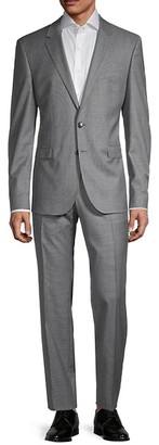 HUGO BOSS Ryan Regular-Fit Virgin Wool Suit
