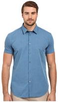 John Varvatos Short Sleeve Solid Shirt W443S1B