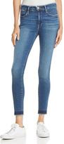 Frame Skinny Raw Edge Jeans