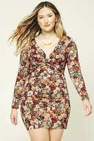 Forever 21 FOREVER 21+ Plus Size Floral Dress