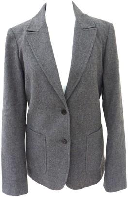 Vanessa Bruno Grey Wool Jacket for Women