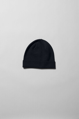 Weekday Sly Knit Beanie - Black