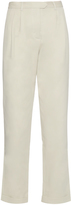 Rosie Assoulin Cropped cotton-twill trousers