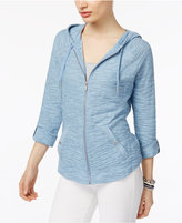 Style&Co. Style & Co Petite Slub-Knit Hoodie, Only at Macy's