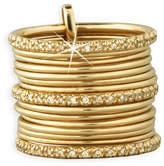 Sydney Evan 14k Stackable Thin Ring Set w/ Diamonds, Size 6