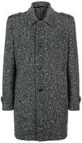 Harrods Of London Longline Wool Pea Coat
